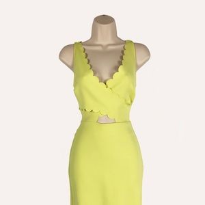 Topshop Neon Bodycon Dress